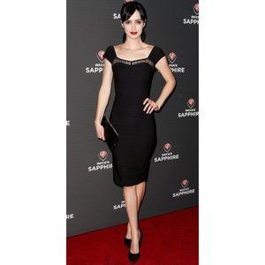 Stop Staring Alicia Estrada XS Stretch Midi Dress